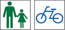 自転車・歩行者区分