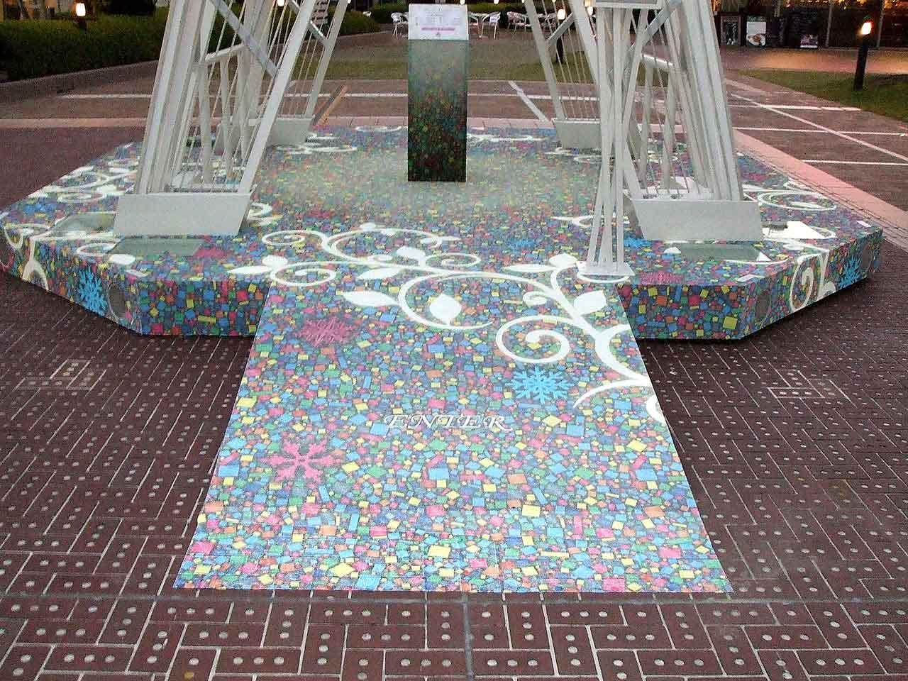 装飾 クリスマスイルミネーション 新宿テラスシティ2010-11