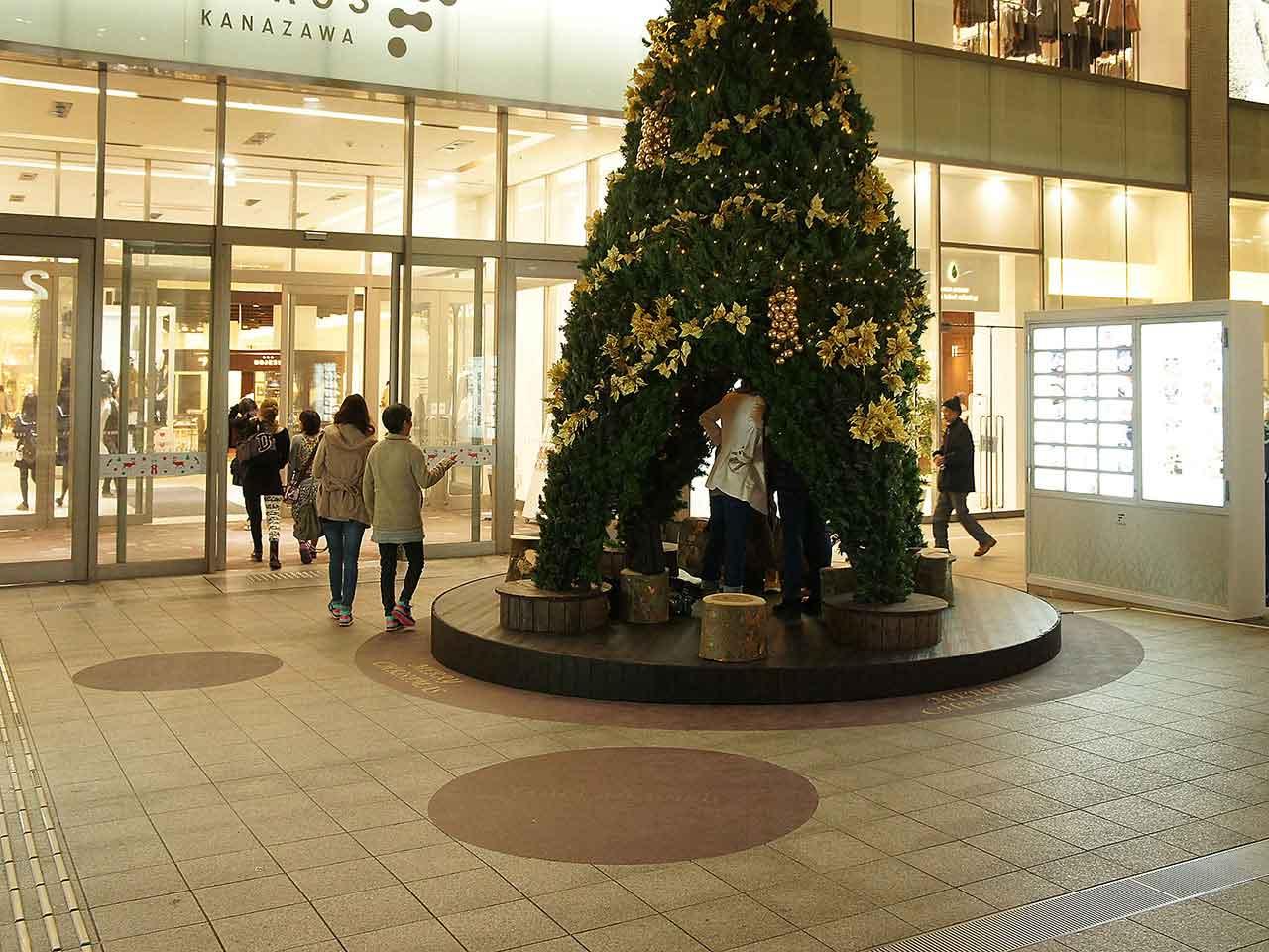 装飾 クリスマスイルミネーション 金沢市