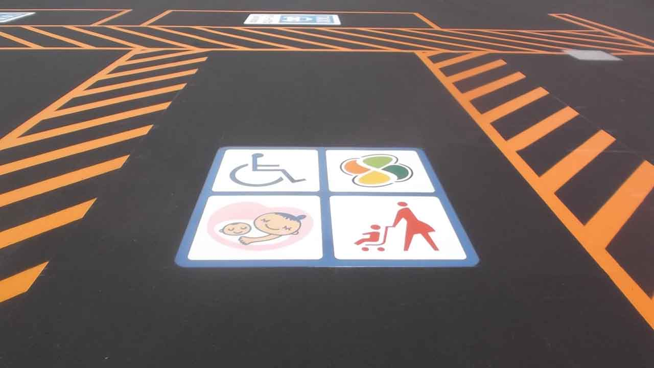 優先駐車区画