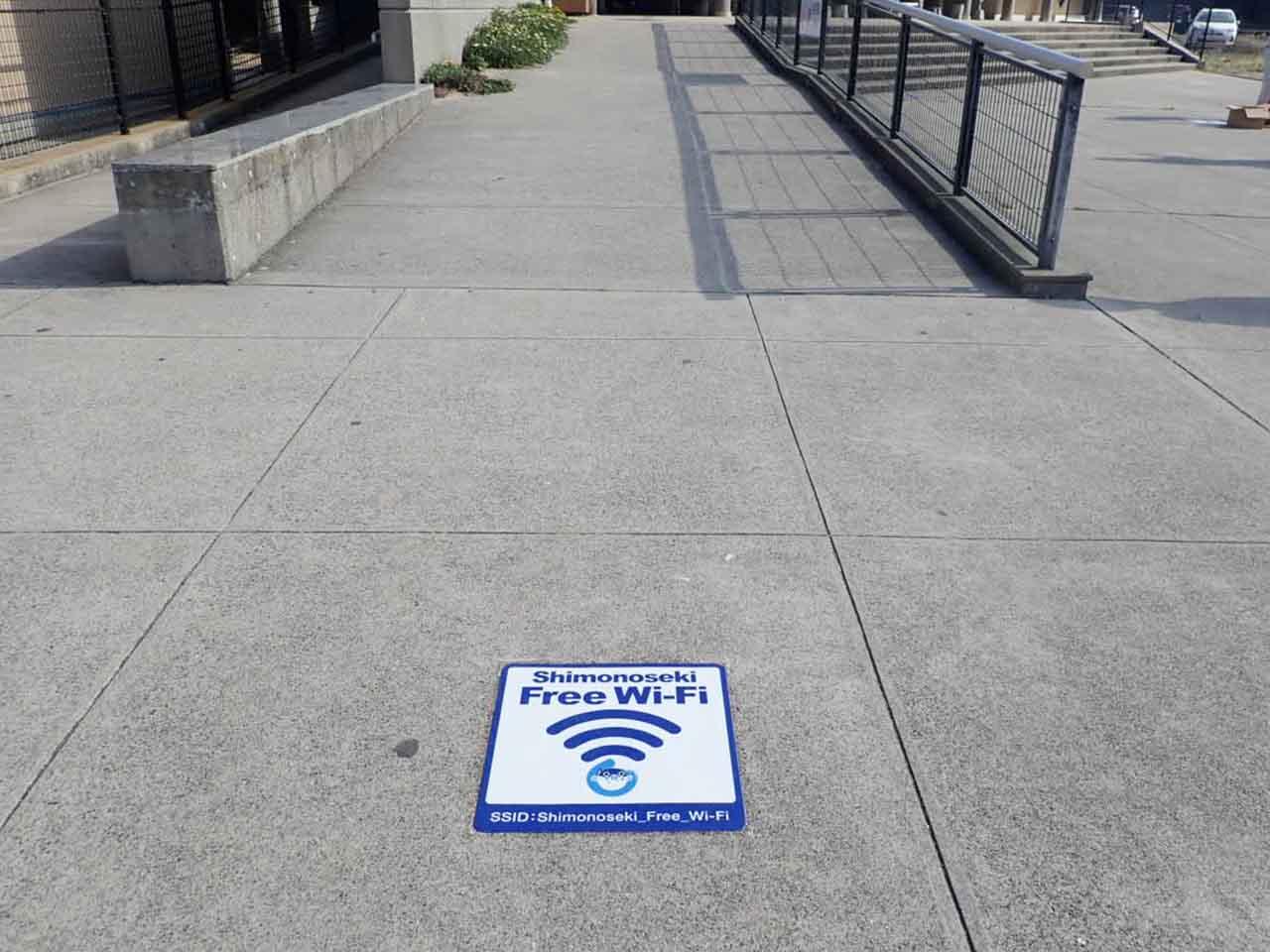Shimonoseki  Free Wi-Fi